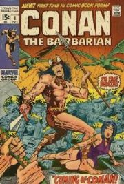 Conan The Barbarian Comics (1970 Series)